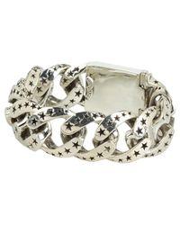 King Baby Studio - Metallic Extra Large Star Link Bracelet - Lyst