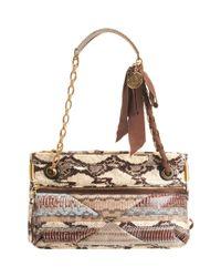 Lanvin   Multicolor Jacquard Crossbody Bag   Lyst