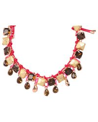 Marc By Marc Jacobs | Multicolor Claude Olivia Cording Necklace | Lyst