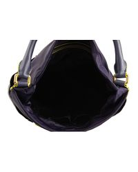 Marc By Marc Jacobs | Black Preppy Nylon & Leather Hillier Hobo | Lyst