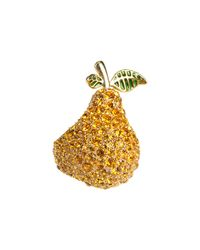 Marc By Marc Jacobs - Metallic Anniversary Pave Pear Ring - Lyst