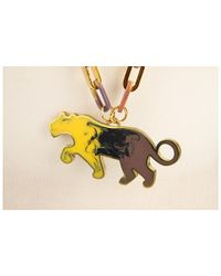 Marc By Marc Jacobs | Yellow Predator Resin Panther Necklace | Lyst