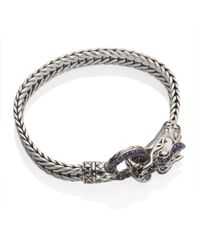 John Hardy | Metallic Naga Lava Dragon Bracelet | Lyst