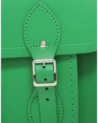 Cambridge Satchel Company | Green 14 Satchel | Lyst