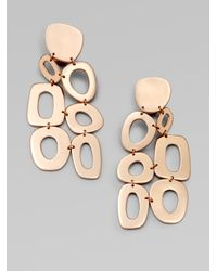Ippolita | Pink 18k Gold & Sterling Silver Mosaic Cascade Earrings | Lyst