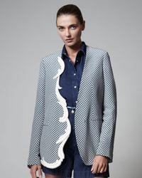 Stella McCartney | Gray Oriental Print Jacket | Lyst