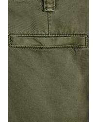 J Brand - Green Inez Cropped Cotton Chinos - Lyst