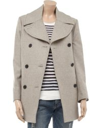 By Malene Birger | Gray Massia Wool-blend Coat | Lyst