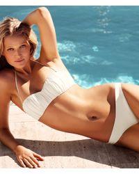 H&M Gray Bikini Bottoms