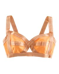 H&M Orange Bikini Top
