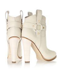 Jimmy Choo - White Donita Short Boot - Lyst