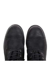 AllSaints | Black Gallant Boot for Men | Lyst