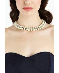 Coast - White Lorenza Necklace - Lyst