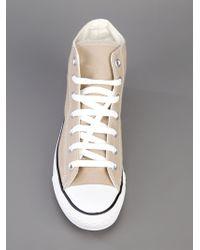 Converse Natural Hi-top Canvas Sneakers