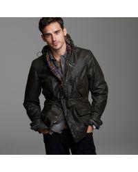 J.Crew | Black Barbour® Derwent Jacket for Men | Lyst