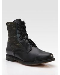 Rag & Bone | Black Mallory Boots for Men | Lyst