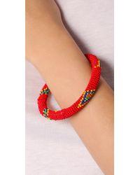 Antik Batik - Red Saleya Bracelet - Lyst