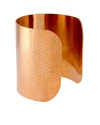 ASOS Metallic Hammered Double Cuffs