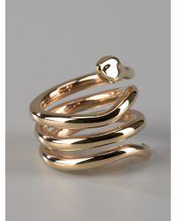 Chloé Multicolor Stacy Snake Ring