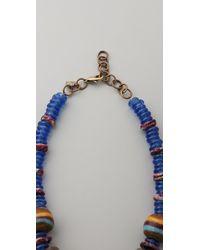 DANNIJO Blue Lita Necklace