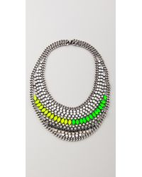 DANNIJO - Metallic Kinsley Necklace - Lyst