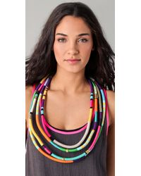 Holst + Lee - Multicolor Four Strand Necklace - Lyst