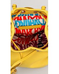 Marc By Marc Jacobs Yellow Block Party Great Balls Of Fire Bag