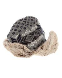 Woolrich - Gray Glacier Hat for Men - Lyst