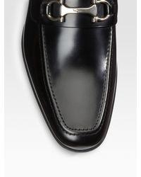 Ferragamo - Black Lawton Loafers for Men - Lyst