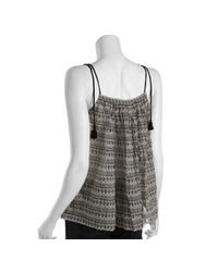 French Connection - Gray Desdemonas Dream Flared Top - Lyst