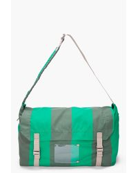 Marc By Marc Jacobs   Green Striped Flasher Messenger Bag for Men   Lyst