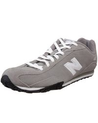 New Balance | Gray Womens Cw442 Leather Sneaker | Lyst