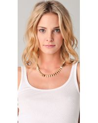 Noir Jewelry - Metallic Noir For L.a.m.b. Pointy Collar Necklace - Lyst