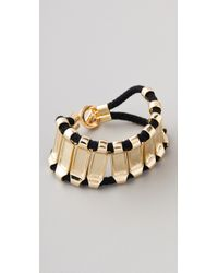 Noir Jewelry - Metallic Noir For L.A.M.B. Bar Bracelet - Lyst