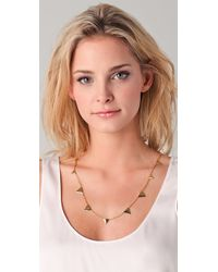 Elizabeth and James Metallic Thorn Layering Necklace 24