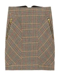 Rag & Bone - Brown Lomond Tweed Skirt - Lyst
