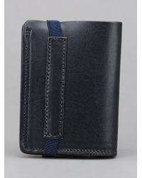 Veja Black Elastico Wallet for men