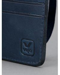 Veja Blue Elastico Wallet for men
