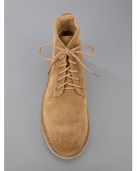 A.P.C. Natural Lace-up Boots for men