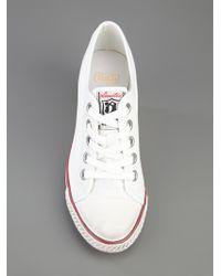 Ash White Wedge Sneaker