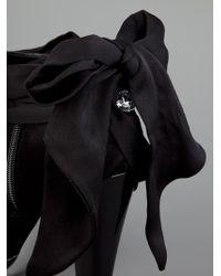 Azzaro Black Bow Detail Bootie