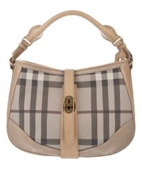 Burberry Brit Natural Checked Bag