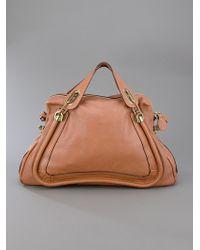 Chloé Brown Paraty Bag