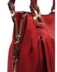 Chloé Red Marcie New Tote