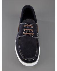 Church's Blue Boat Shoes for men