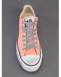 Converse Pink All Star Nectarine Smoke Sneaker for men