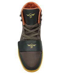 Creative Recreation Green Cesario High Top Sneaker for men