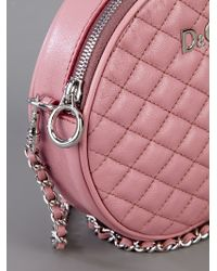 Dolce & Gabbana Pink Quilted Leather Bag