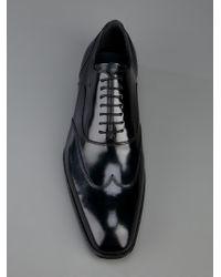 DSquared² Black Leather Shoe for men