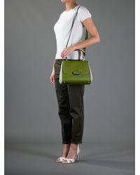 Fendi Green Silvana Bag